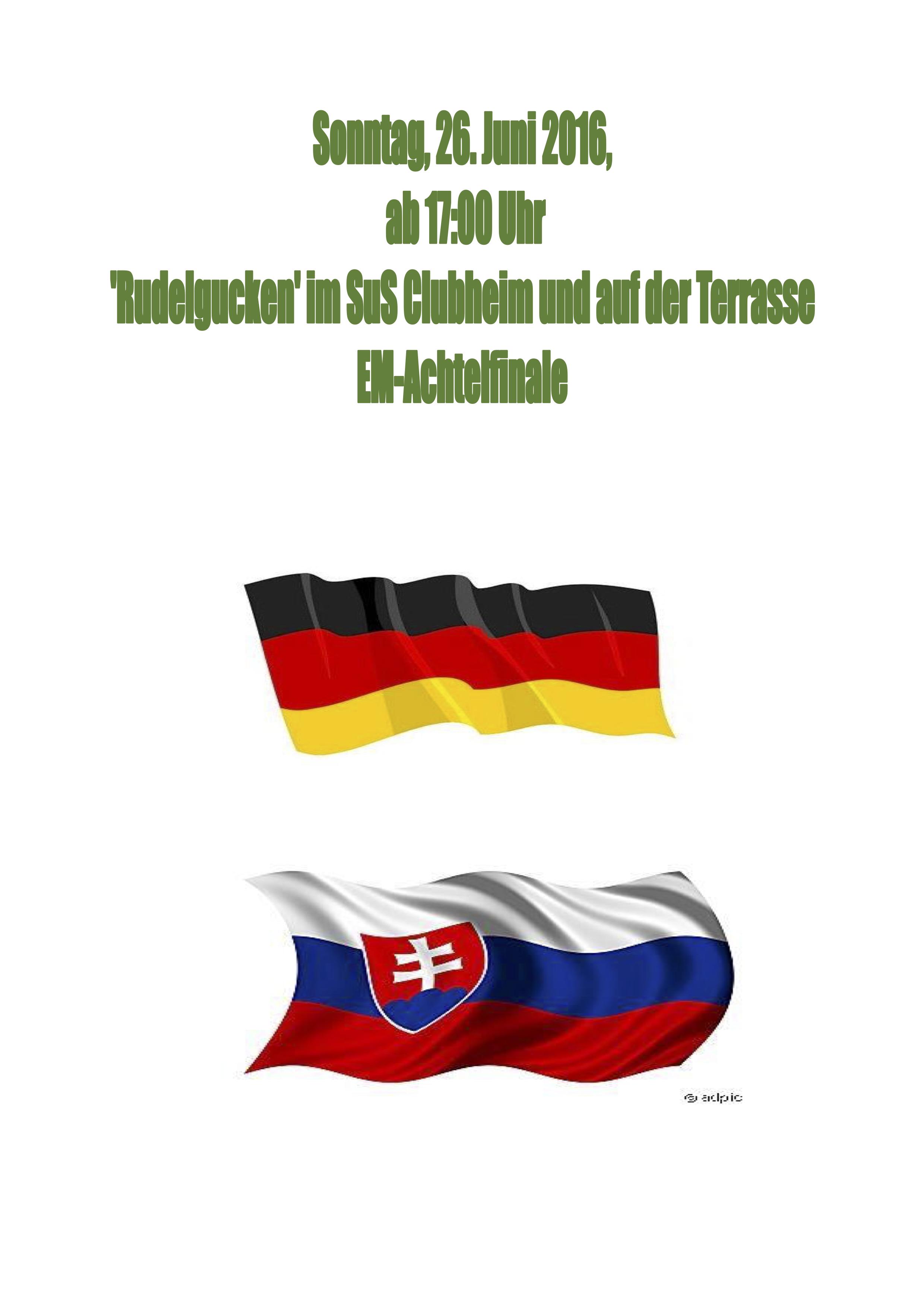 Deutschland - Slowakei