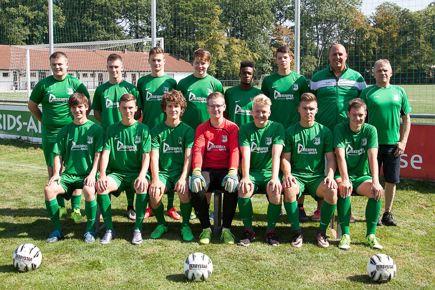 A-Junioren Saison 2016/17