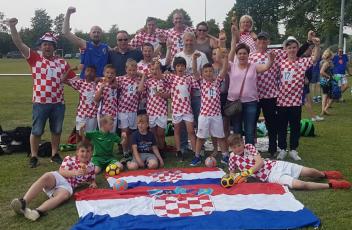 SuS E-Junioren als WM-Teilnehmer Kroatien