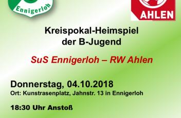 Pokal B-RW Ahlen 04.10.2018