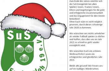Weihnachtsgruss 2020 SuS Ennigerloh 2